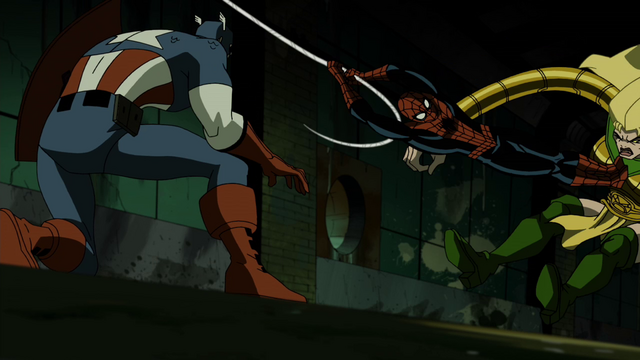 File:Spider-Man Saves Captain America AEMH.png