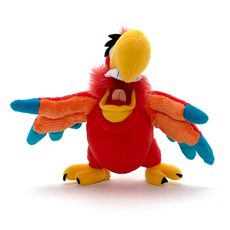 File:Iago plush 20cm mini bean bag walt disney yago aladdin loro 20th anniversary disney store peluche merchandising blu ray.jpg