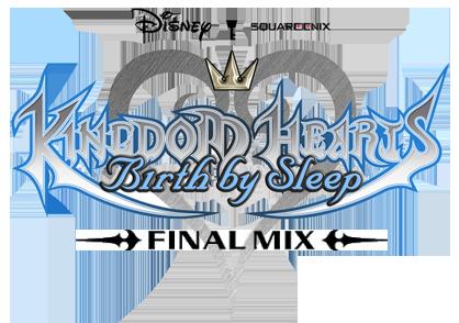 File:Kingdom Hearts Birth by Sleep Final Mix Logo KHBBSFM.png