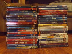 Geoff109 Disney Movie DVDs 2