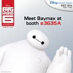 MeetBaymaxSDCC2014