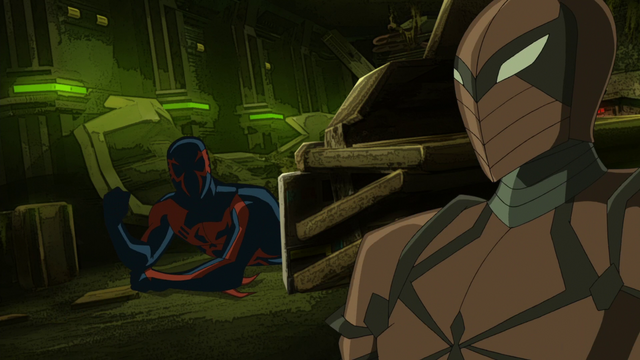 File:Spyder-Knight and Spider-Man 2099 USMWW.png