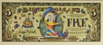 Disney donald duck dollar