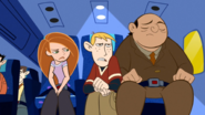 Kim and ron on a plane