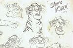 The Jungle Book Shere Khan the Tiger model sheet 07