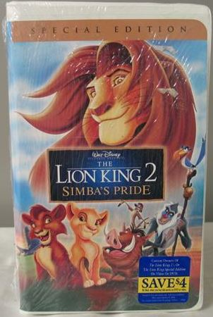 File:The Lion King II 2004 Special Edition VHS.JPG