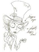 Tarrant Tim Burton Art 3