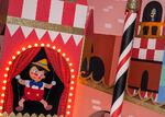 Pinocchio and Jiminy Cricket Small World