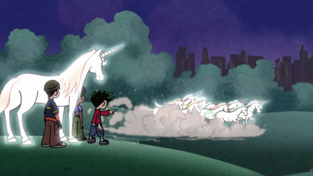 File:117 - The trio witness the unicorn herd.png