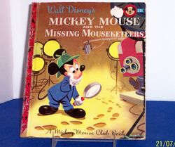 Mickey Mouse and the Missing Mouseketeers MMC Book