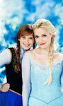 Once Upon a Time - Season 4 - Photoshoot - Anna and Elsa 2