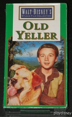 File:Walt Disney Studio Film Collection - Old Yeller VHS - (Front).jpg