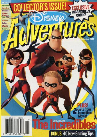 File:Disney Adventures Magazine cover November 2004 The Incredibles.jpg