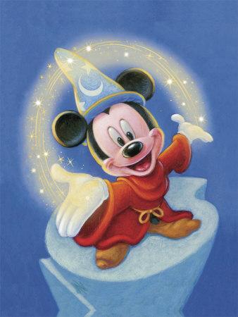 Image - Sorcerer-mickey-fantasia-magic.jpg | Disney Wiki ...