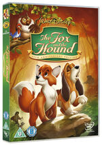 The Fox and the Hound 2012 UK DVD