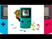 Beast with Lumiere and Mrs Potts in a GBC Commercial