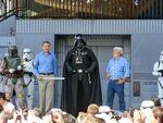 Disney Parck Darth Vader,Geoge Lucas,Boba Fett