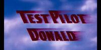 Test Pilot Donald