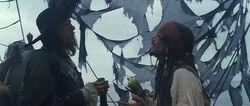 Jack Barbossa Black Pearl COTBP