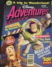 Disney Adventures Magazine australian cover December 1995 Toy Story