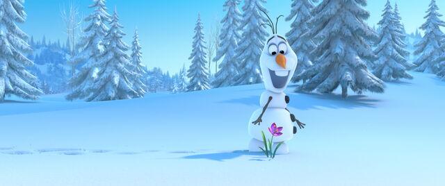 File:Olaf looks at Flower.jpg