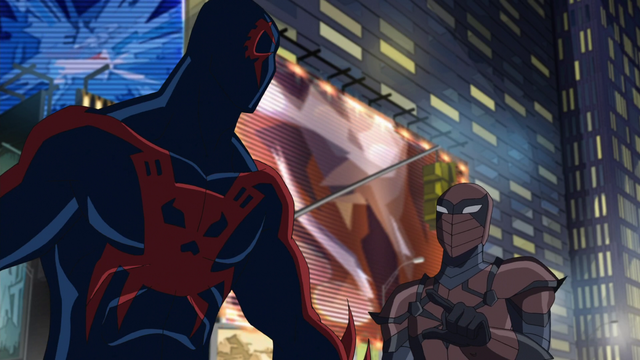 File:Spyder-Knight and Spider-Man 2099 USMWW 1.png