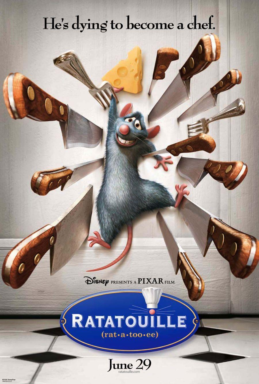 póster de la película ratatouille