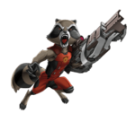 Rocket Animated Render 01