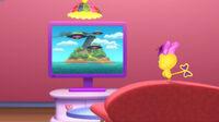 Cuckoo loca watching mystery island