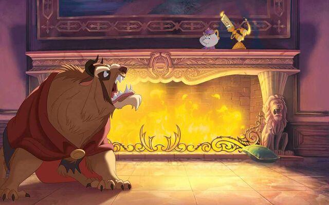 File:Disney Princess Belle's Story Illustraition 9.jpg