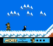 Mickey's Safari in Letterland Gameplay