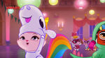 Dreamy in her unicorn costume