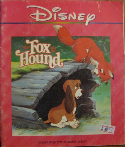 File:The Fox and Hound Read-Along Cover.JPG