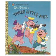 Three Little Pigs Little Golden Books