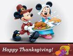 Minnie Mickey Thanksgiving