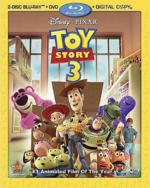 Toy Story 3 Blu-ray DVD combo pack