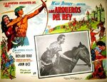 The story of robin hood and his merrie men mexican lobby card