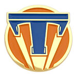 Tomorrowland Pin Orange