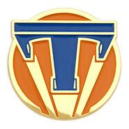 Tomorrowland Pin Orange