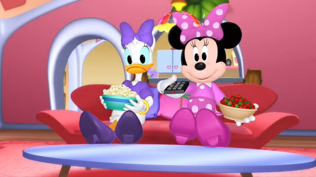 File:Minnie and daisy ready to watch tv.jpg