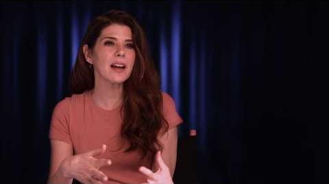 """Spider-Man Homecoming """"Aunt May"""" On Set Interview - Marisa Tomei"""