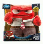 Anger talking plush