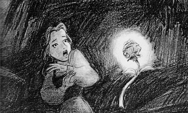File:Beauty and the Beast - Concept Art - Belle and the Enchanted Rose.jpg