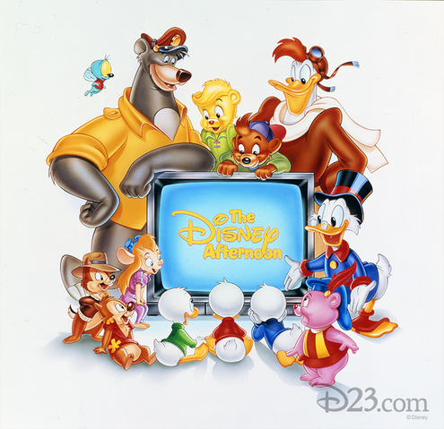File:Disney Afternoon 1990 promotional picture.png