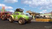Pixar Post - Radiator Springs 500 and a half - Green Jeep