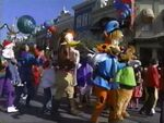 Bonkers in the 1994 Christmas parade