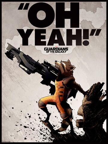 File:Matt Ferguson Rocket and Groot Poster.jpg