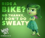 Ride a Bike No Thanks, I Don't Do Sweaty