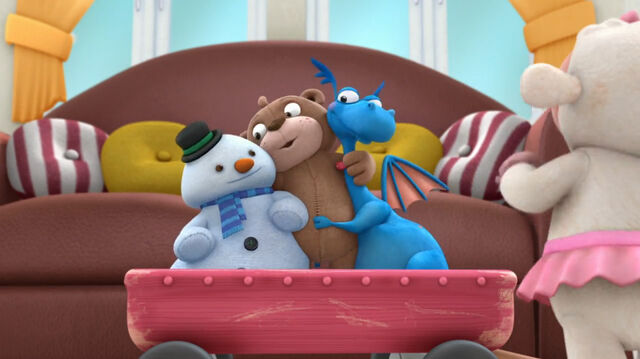 File:Teddy b giving stuffy and chilly a hug.jpg