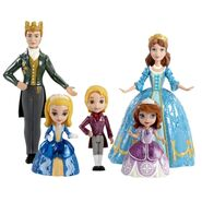 DISNEY SOFIA THE FIRST ROYAL FAMILY